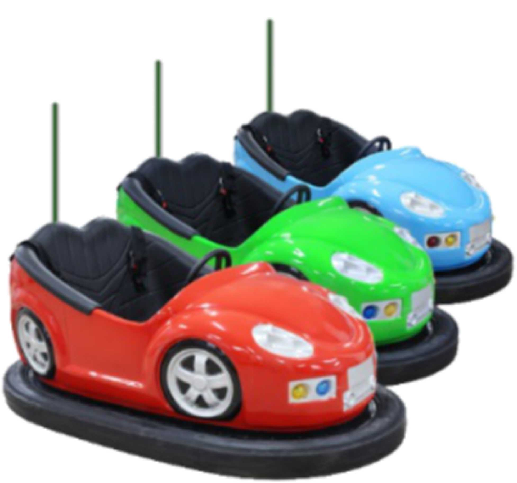 ground-grid Electric Bumper car