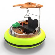 water play laser shooting bumper boat